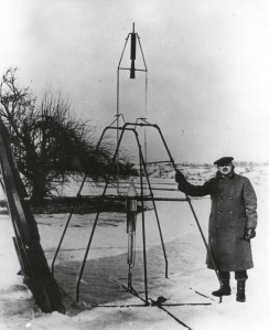 Robert Goddard - First Rocket